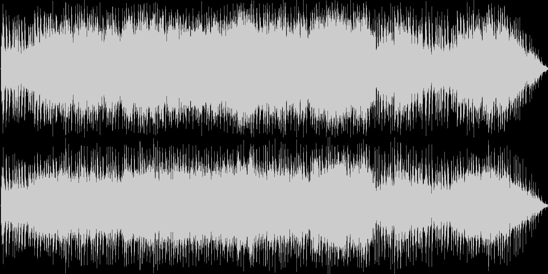 凛々しいシンセオーケストラソングですの未再生の波形