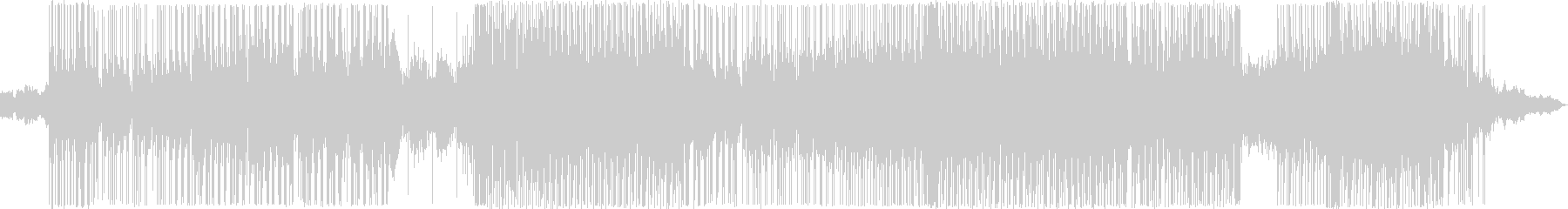 ヒップホップ風のリズムのR&Bバラード6の未再生の波形