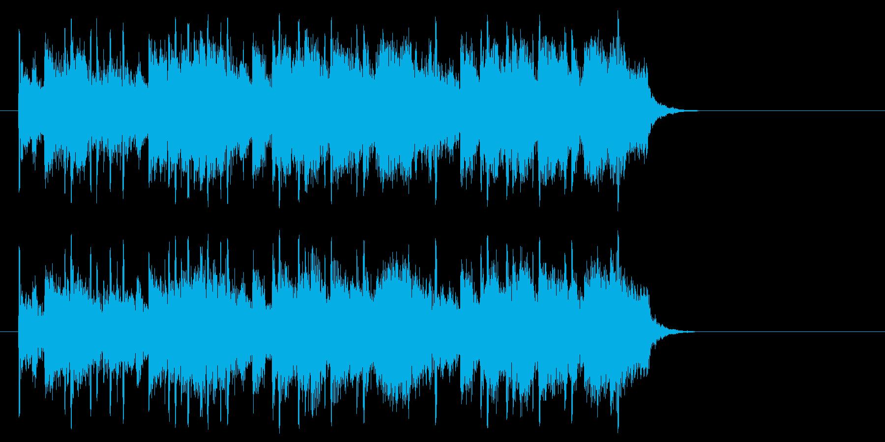 夢に向かう前向きポップ(サビ)の再生済みの波形