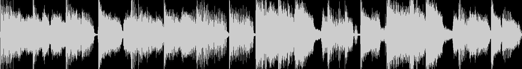 ブルース風の軽快なロックジングル_ループの未再生の波形