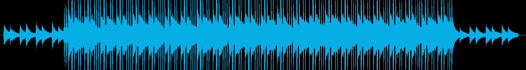 お洒落なピアノ&ジャジーなヒップホップの再生済みの波形