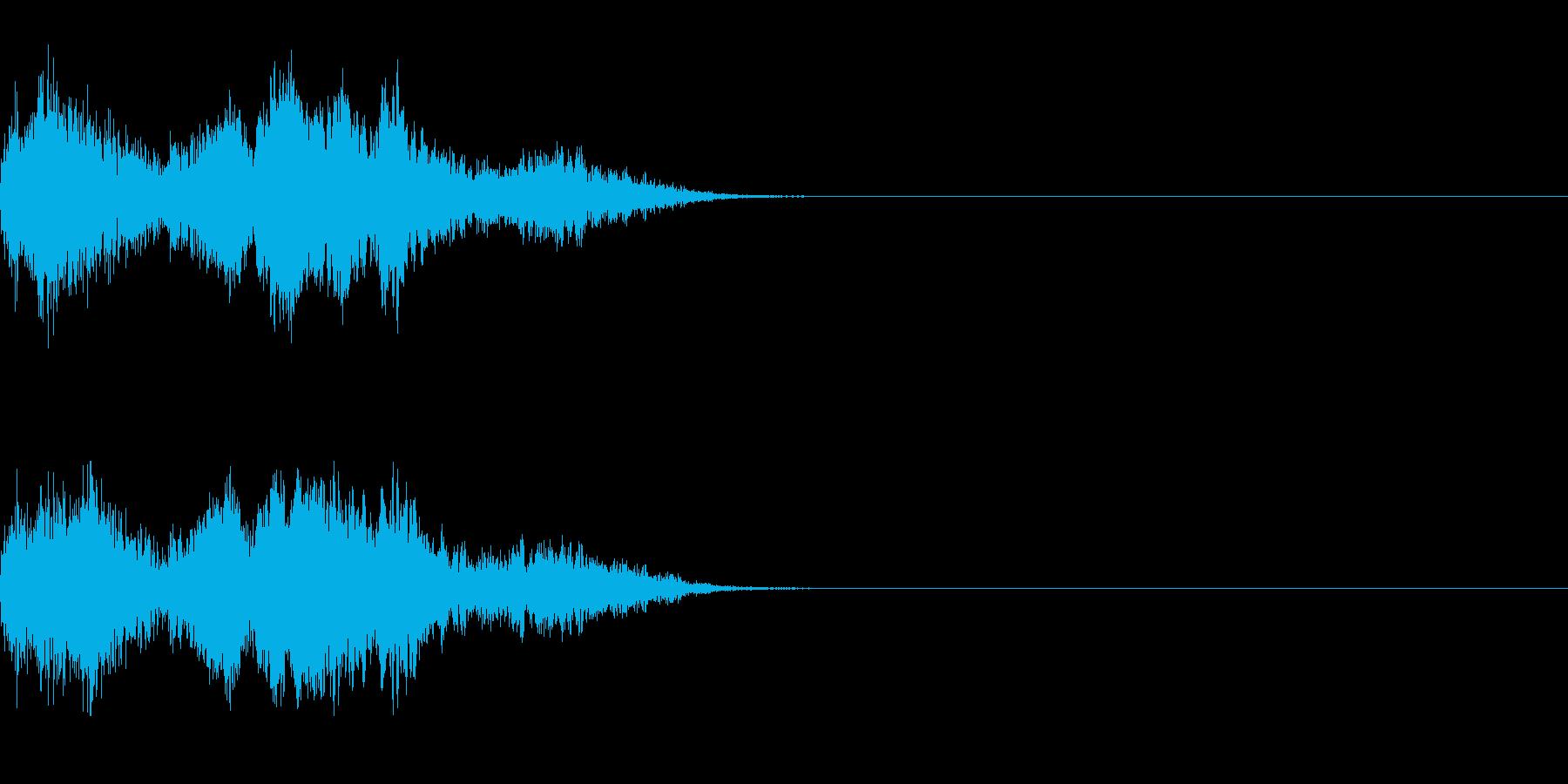 モンスター/鳥系/鳴き声/敵ボイスの再生済みの波形