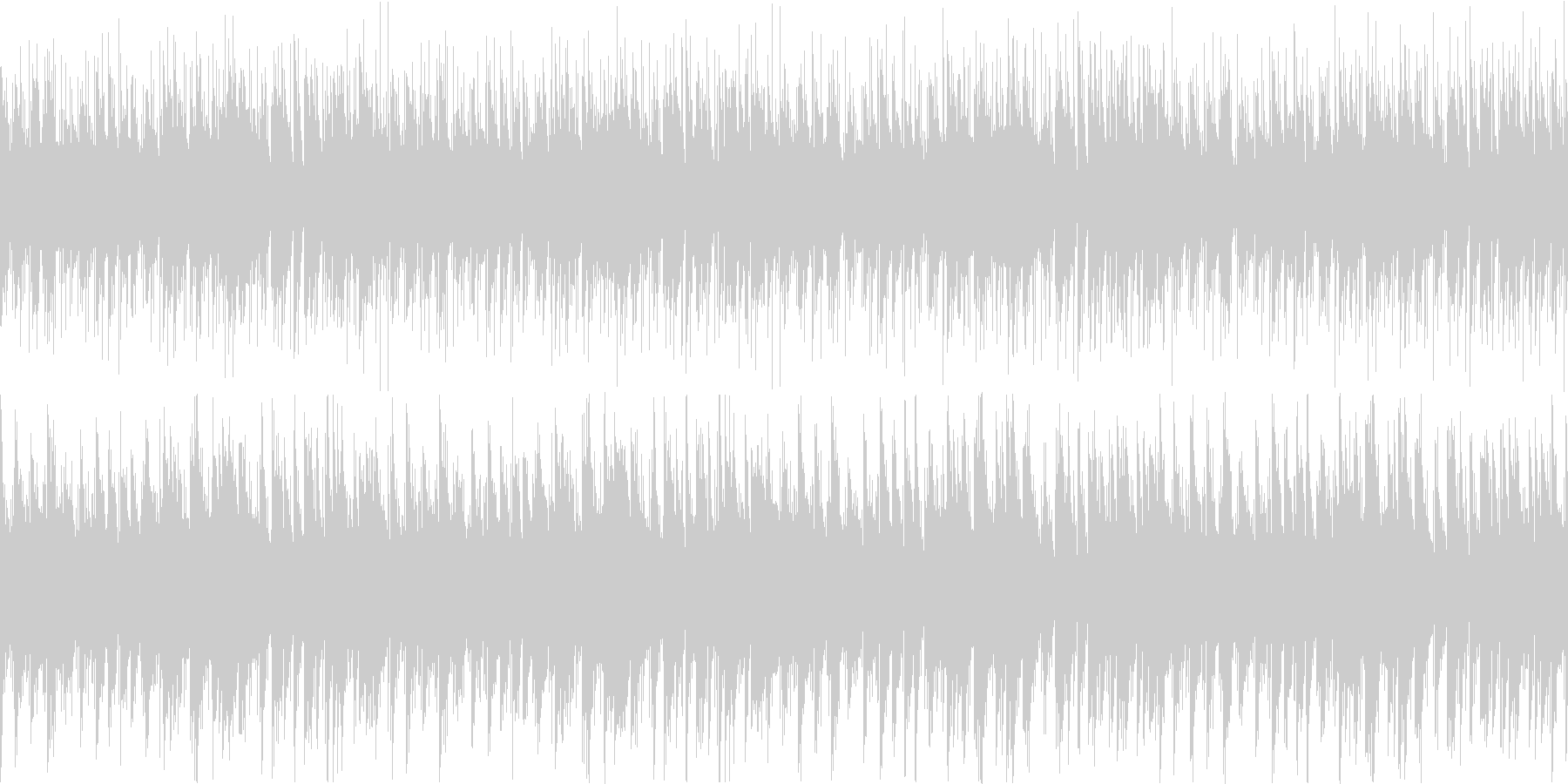 笛がメロディのアコースティックポップスの未再生の波形
