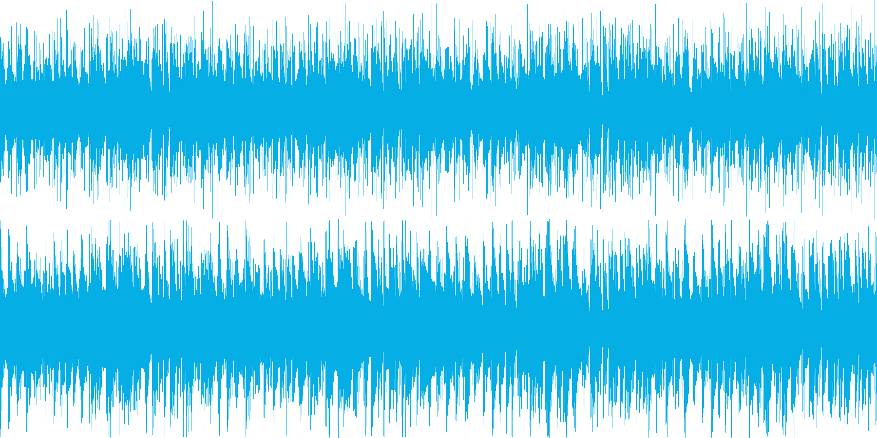 笛がメロディのアコースティックポップスの再生済みの波形