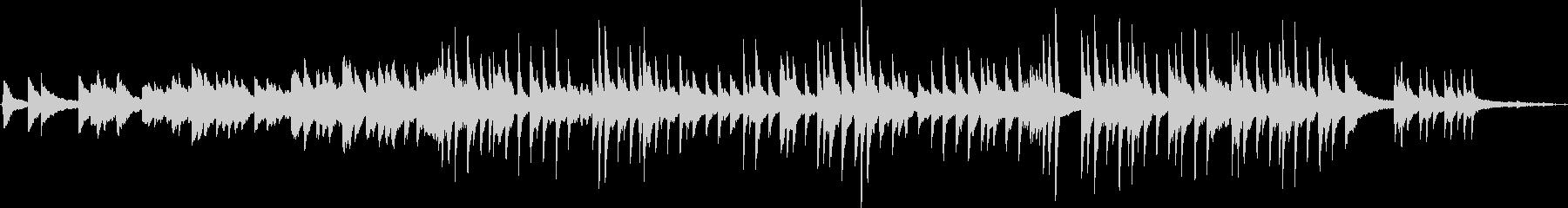 ホルスト「木星」のメロディをピアノソロでの未再生の波形