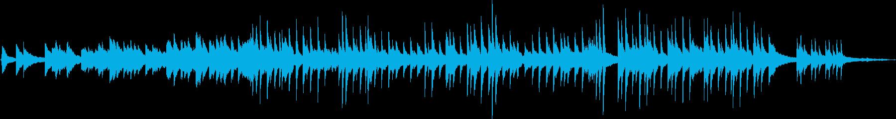 ホルスト「木星」のメロディをピアノソロでの再生済みの波形