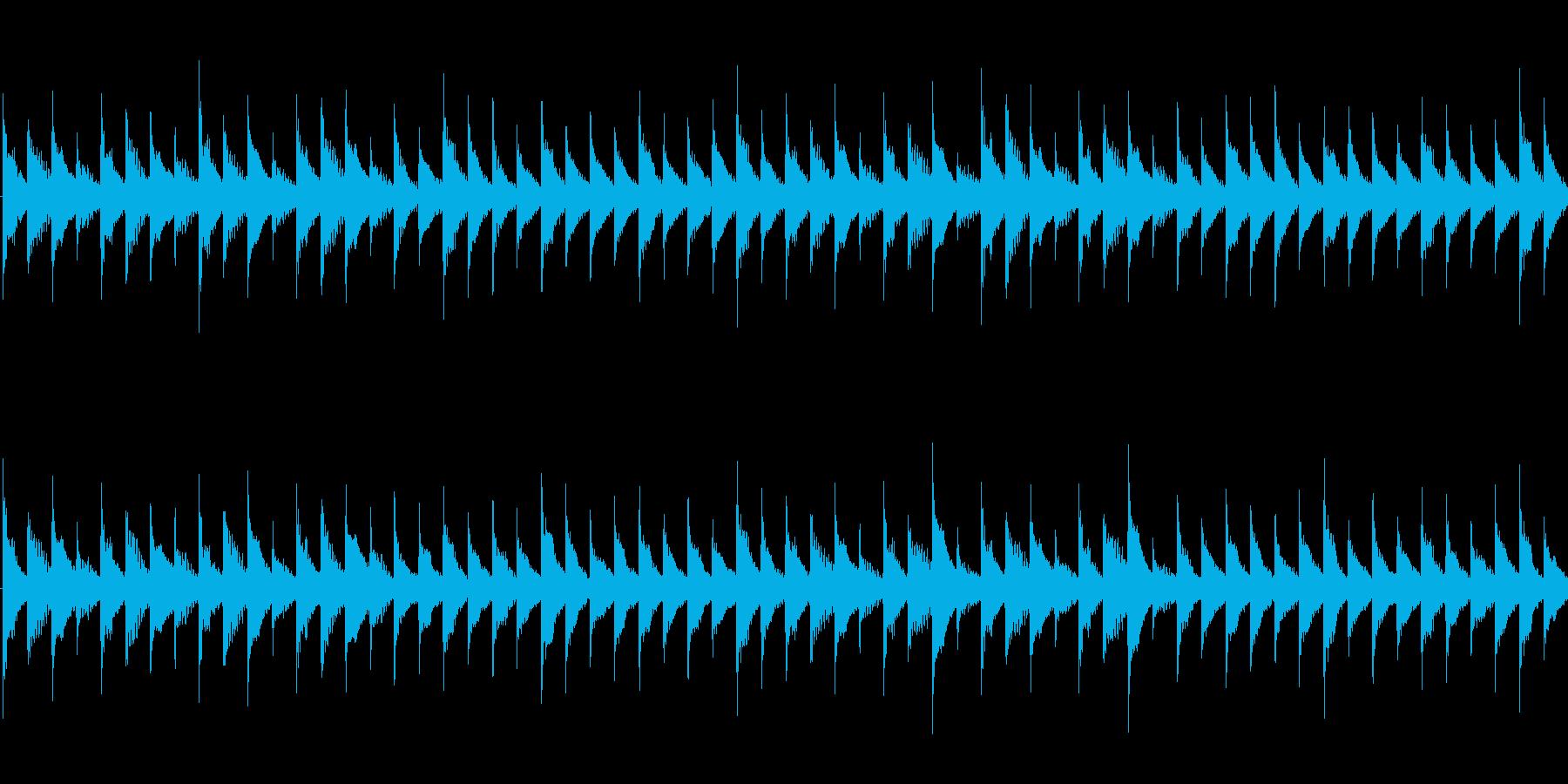 ステージやキャラクター等の選択画面などにの再生済みの波形
