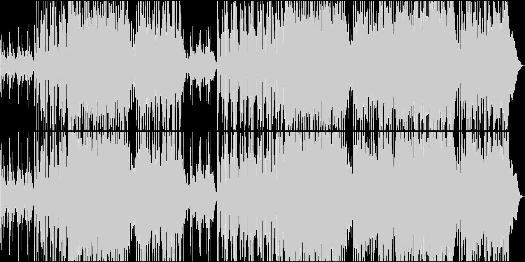 ピアノとアコギの正統派バラードの未再生の波形