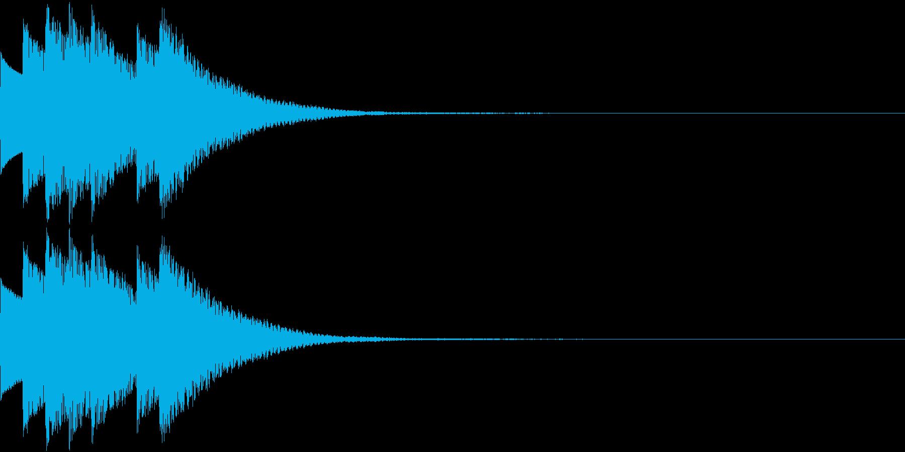 Game アイテム獲得・特技習得SEの再生済みの波形