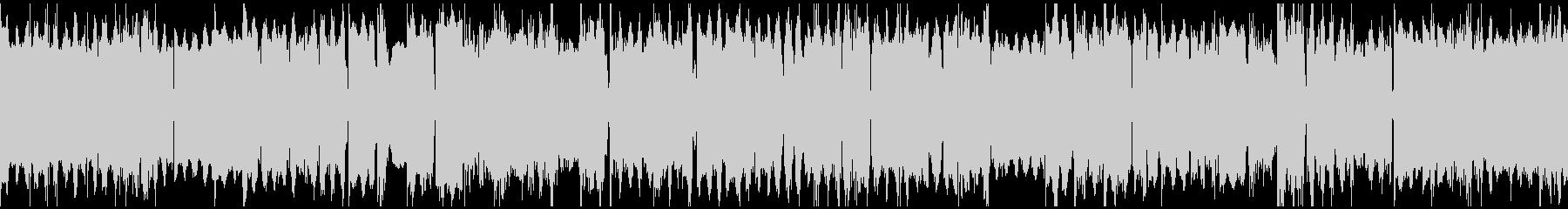 オルガンの三拍子BGM(ループ)の未再生の波形