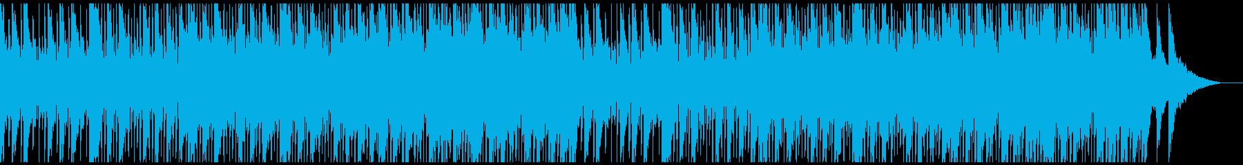 企業VP向けエモーショナルなハウスポップの再生済みの波形