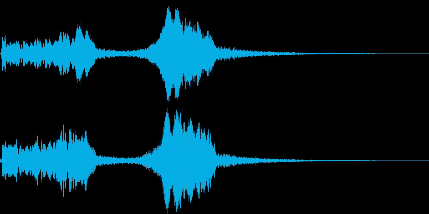TV RADIO SFX1 アイキャッチの再生済みの波形