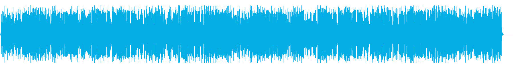 ファンタジックで楽しいメロディーのBGMの再生済みの波形