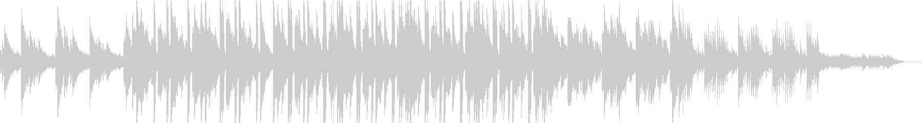 【Loop】憂鬱なChillHopの未再生の波形