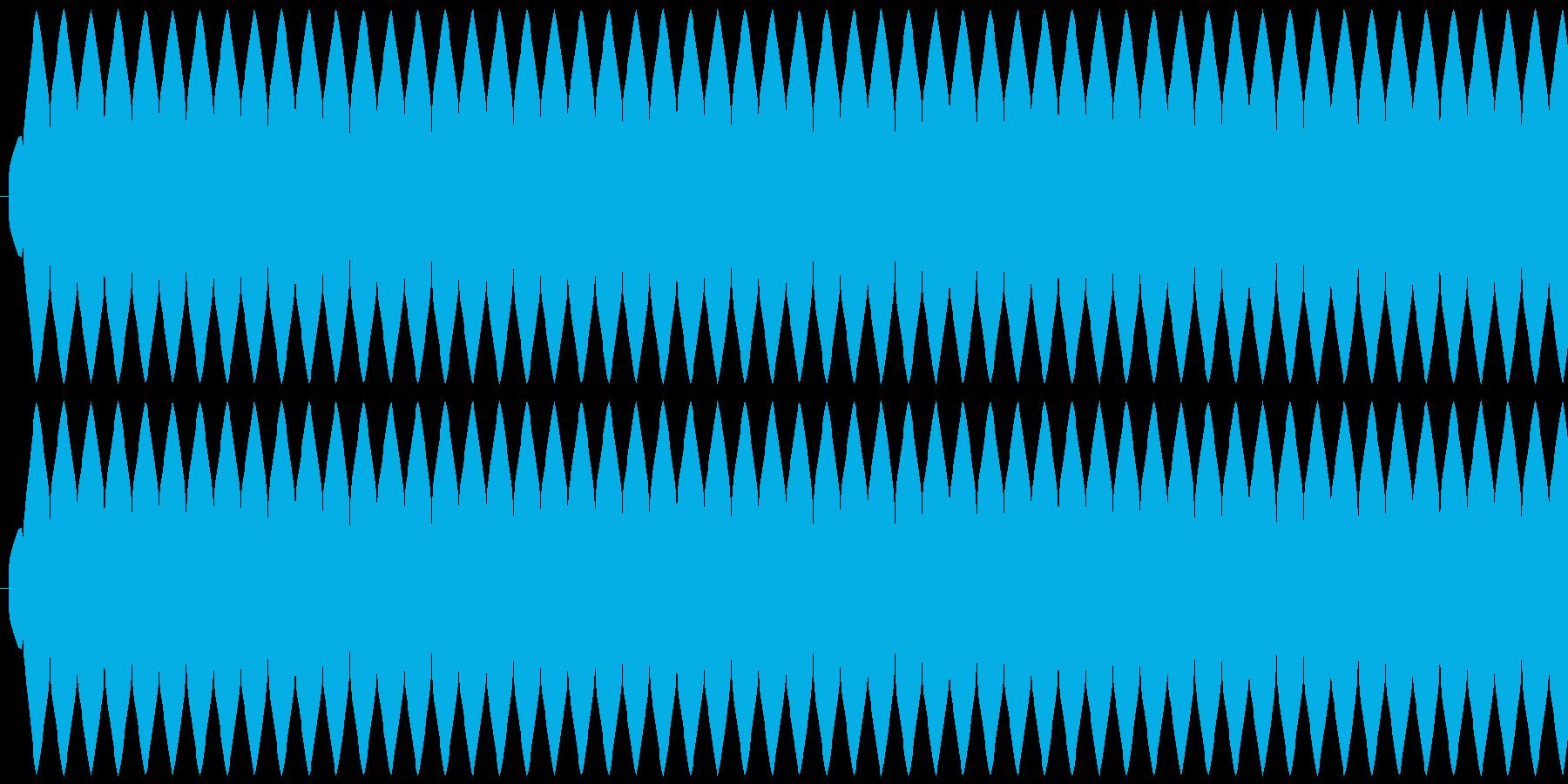 ゲージ増減 得点などの集計 ティィィィ…の再生済みの波形