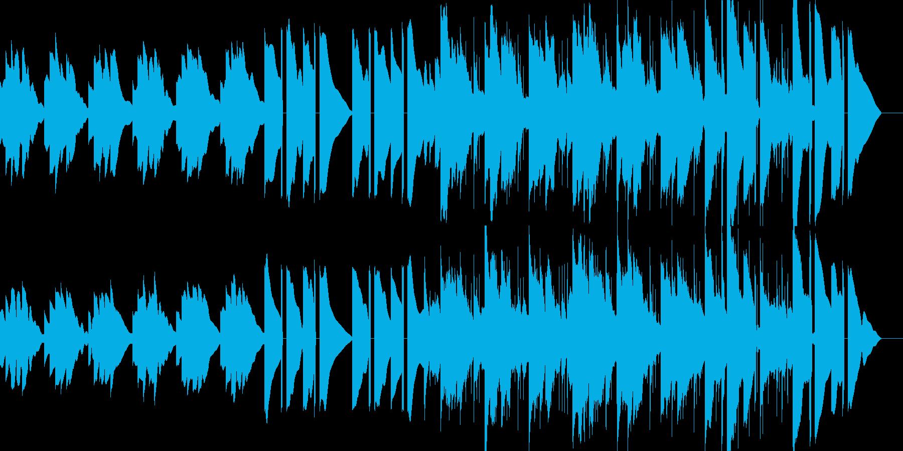 冬をイメージしてエレクトリックピアノを…の再生済みの波形