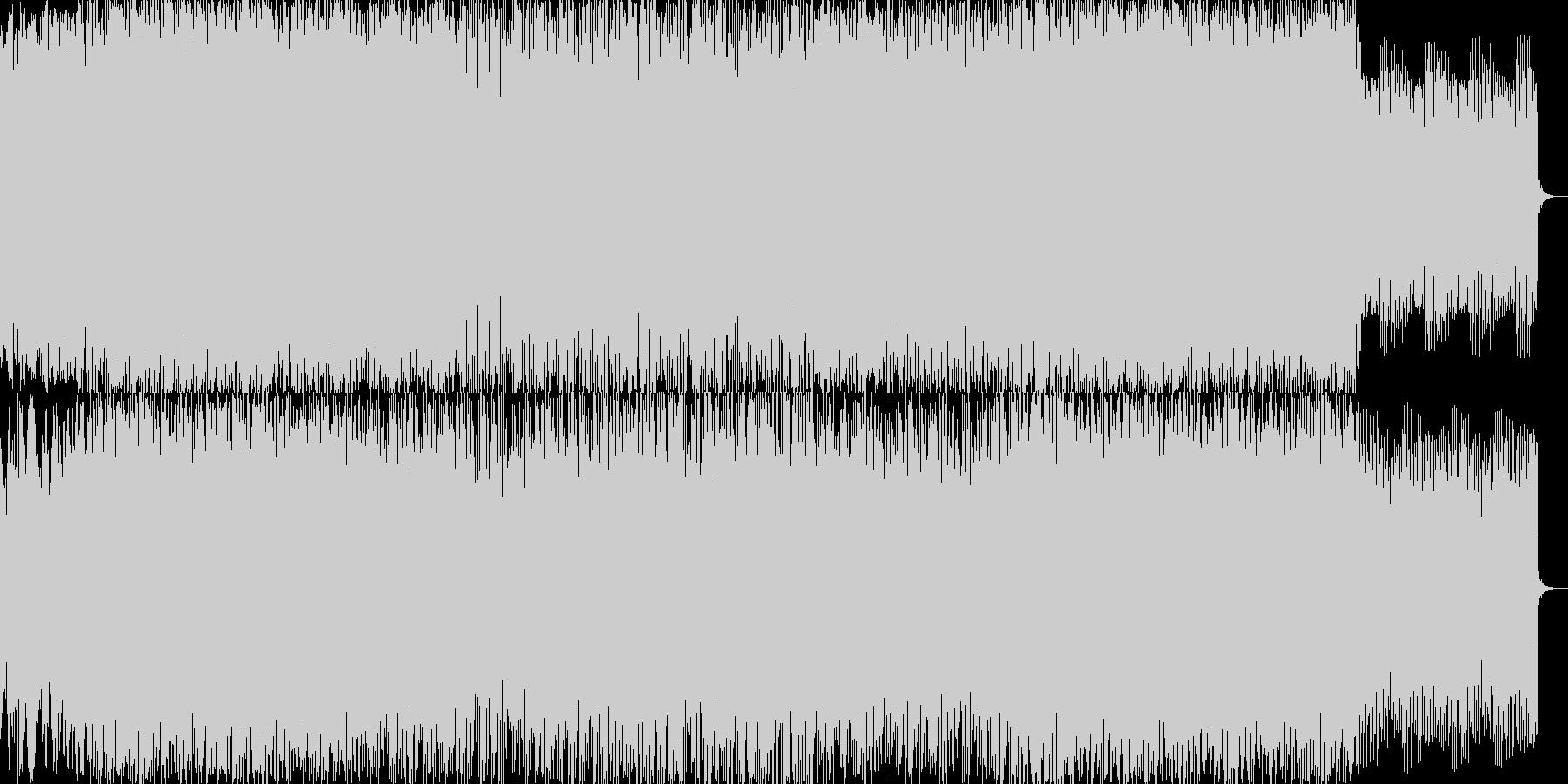 スタンダードなコード進行にダンサブルな…の未再生の波形