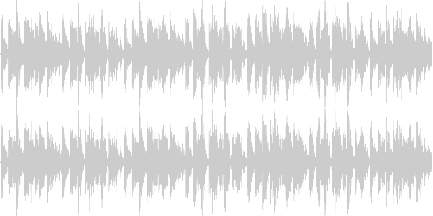 Breakメロディアスな新しい楽曲ですの未再生の波形