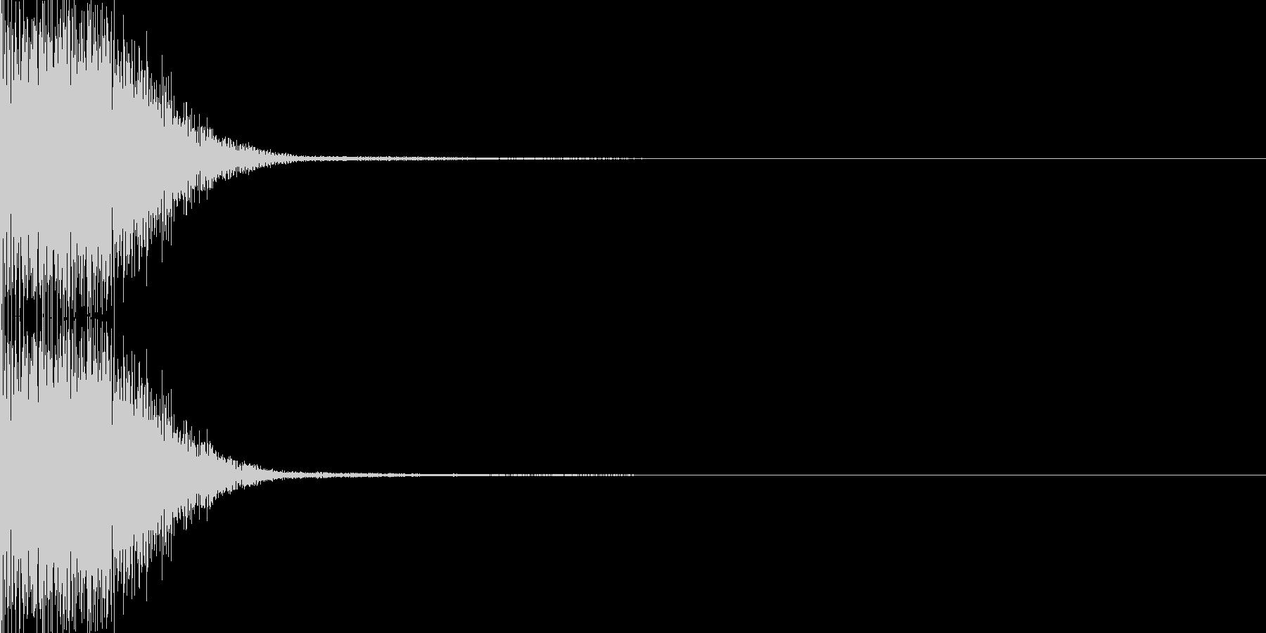 システム音49の未再生の波形