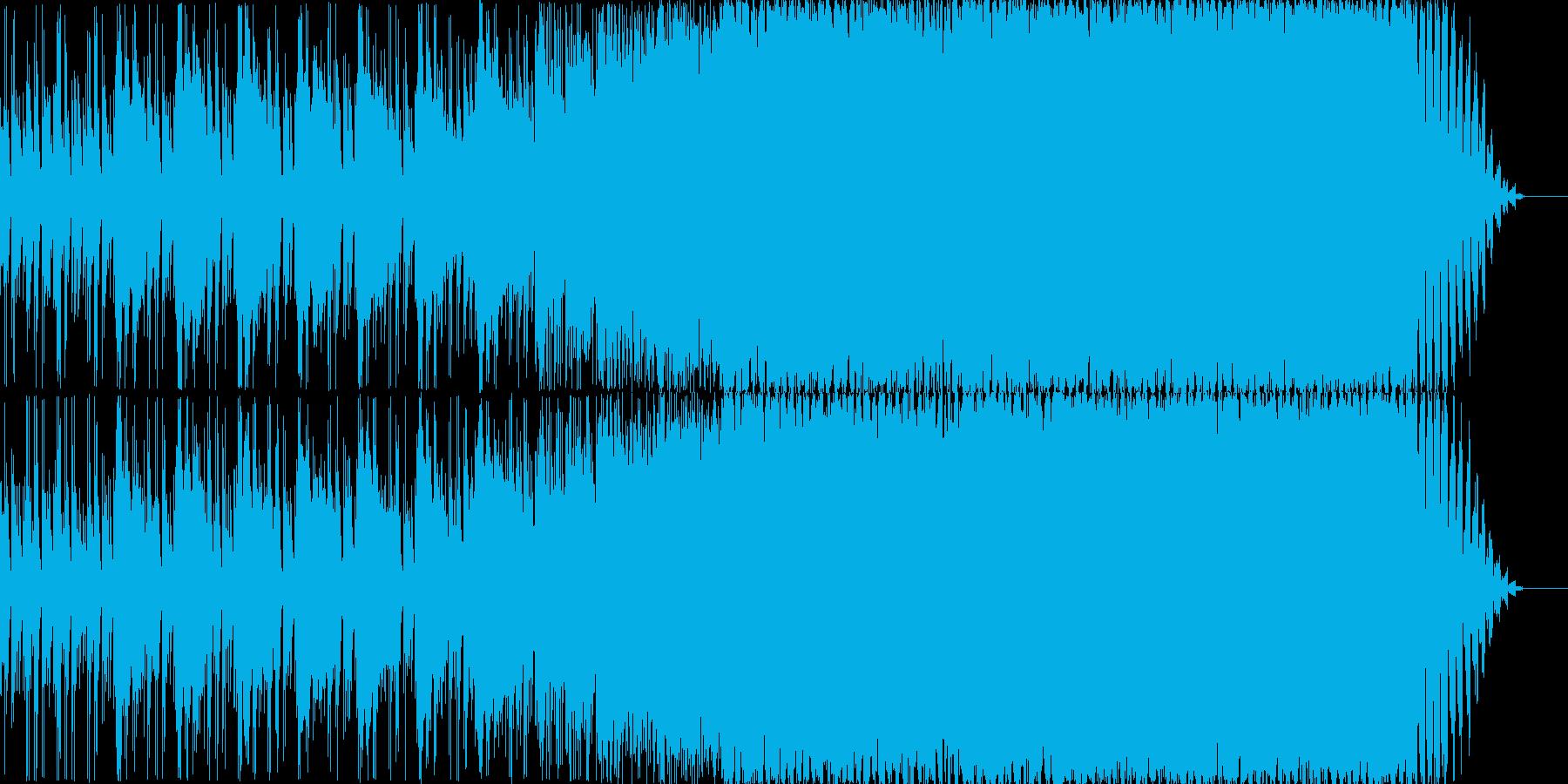 満点の星空をイメージした、軽快なEDMの再生済みの波形
