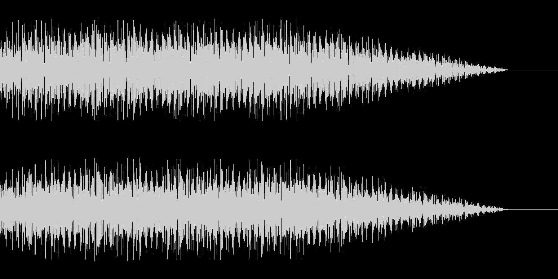 SF 交信3の未再生の波形
