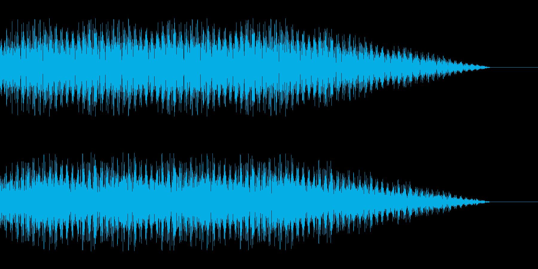 SF 交信3の再生済みの波形
