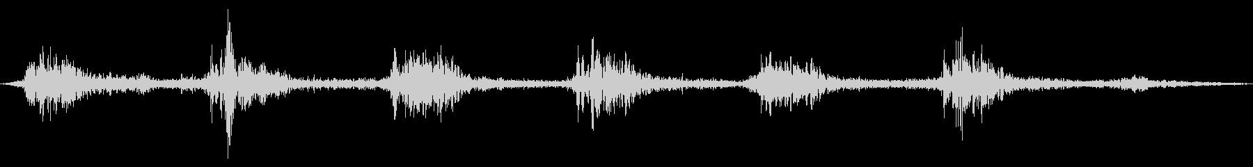 ゴゴ…ゴゴ… 洗濯機の動作音1 ショートの未再生の波形