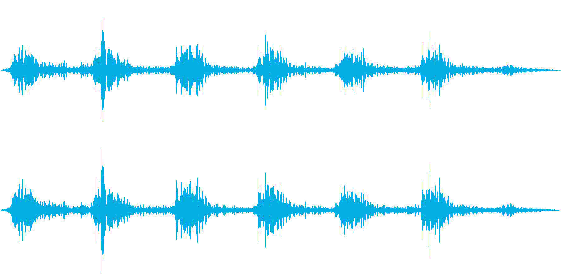 ゴゴ…ゴゴ… 洗濯機の動作音1 ショートの再生済みの波形