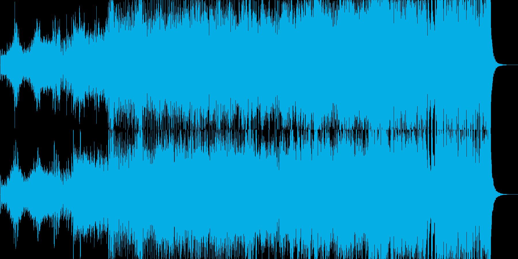 爽やかなで軽快、ポップなジングルの再生済みの波形