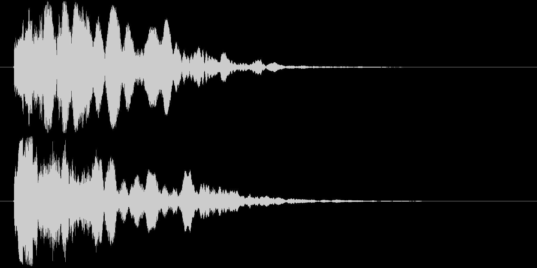 ピィロリロリ~ン(時代劇、西部劇等)の未再生の波形