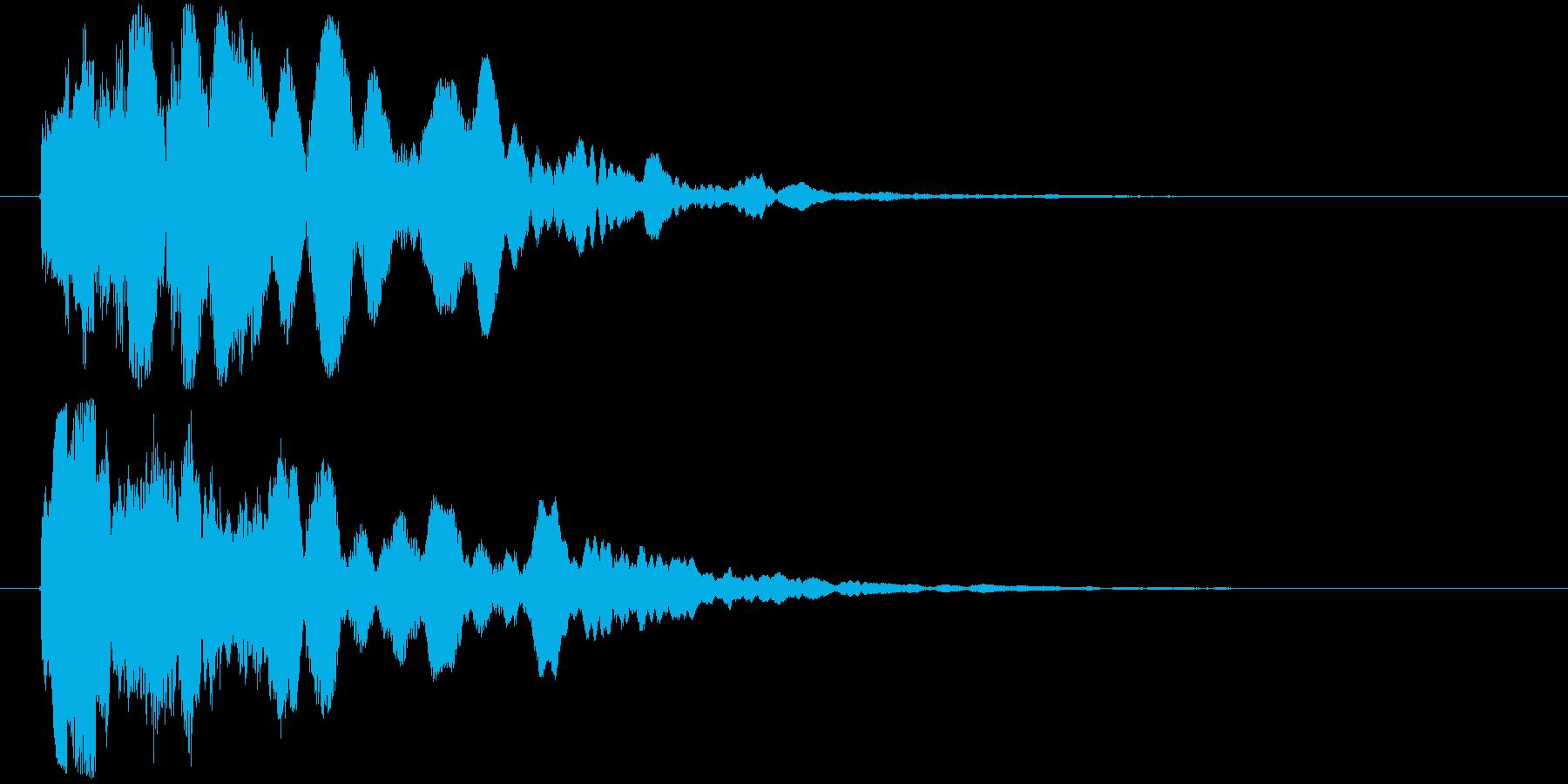 ピィロリロリ~ン(時代劇、西部劇等)の再生済みの波形