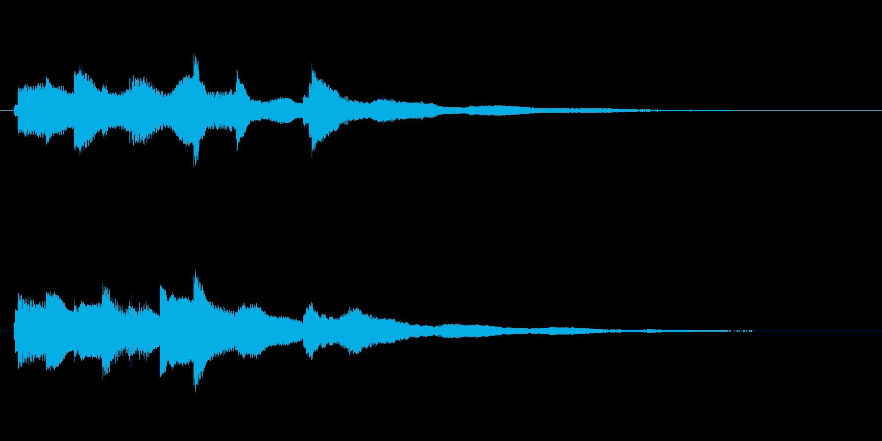 【サウンドロゴ 】エレピ(癒し、静かめ)の再生済みの波形