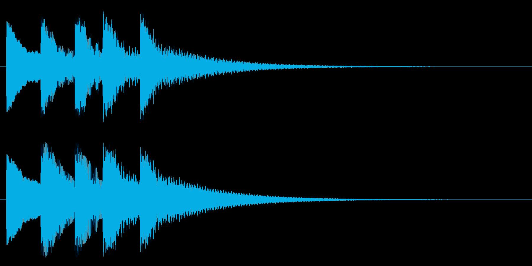 ティトンテントンティーン(物悲しい)の再生済みの波形