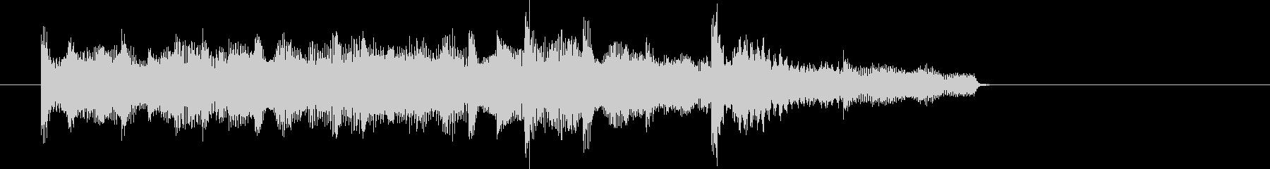 E.ピアノによる場面転換・アイキャッチ2の未再生の波形
