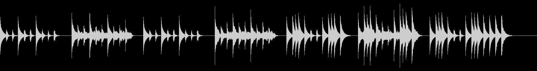 メルヘンチックな曲/朝、子供、ペットの未再生の波形
