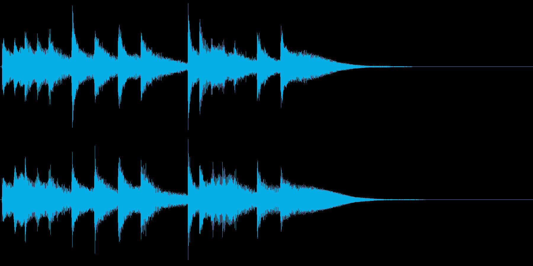 オリエンタル・リフの再生済みの波形