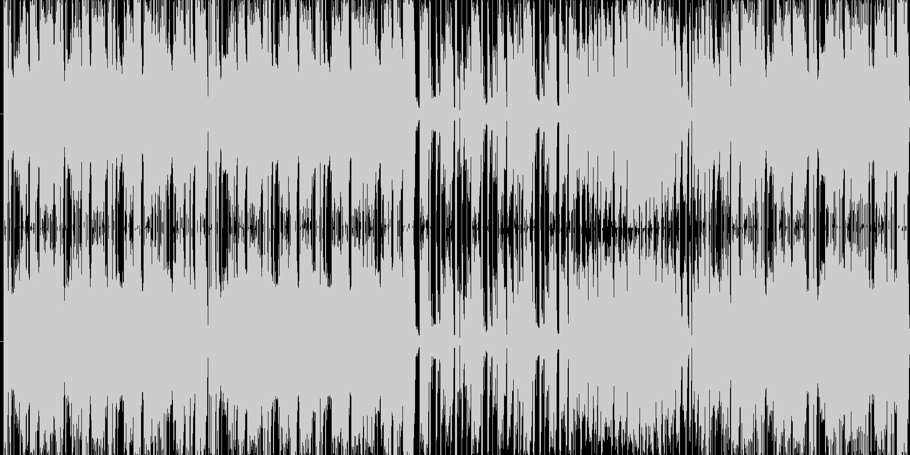楽しそうな雰囲気の曲を目指して作りまし…の未再生の波形