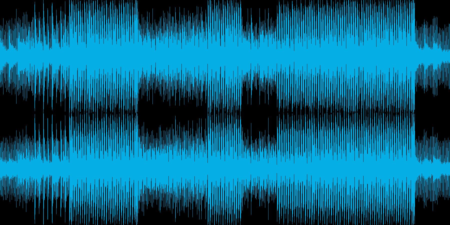 安心できる世界をな曲(ループ仕様)の再生済みの波形