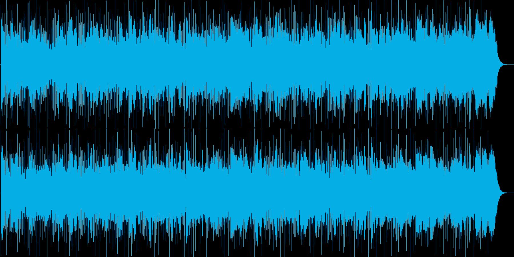 軽快、淡々、さわやか、おしゃれ、いきいきの再生済みの波形