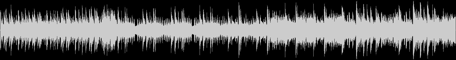 8bit ポップに爽快な宇宙 ループ音源の未再生の波形
