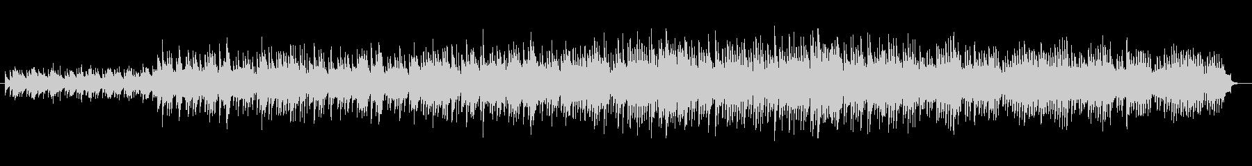 アップテンポなマリンバが印象的なインストの未再生の波形