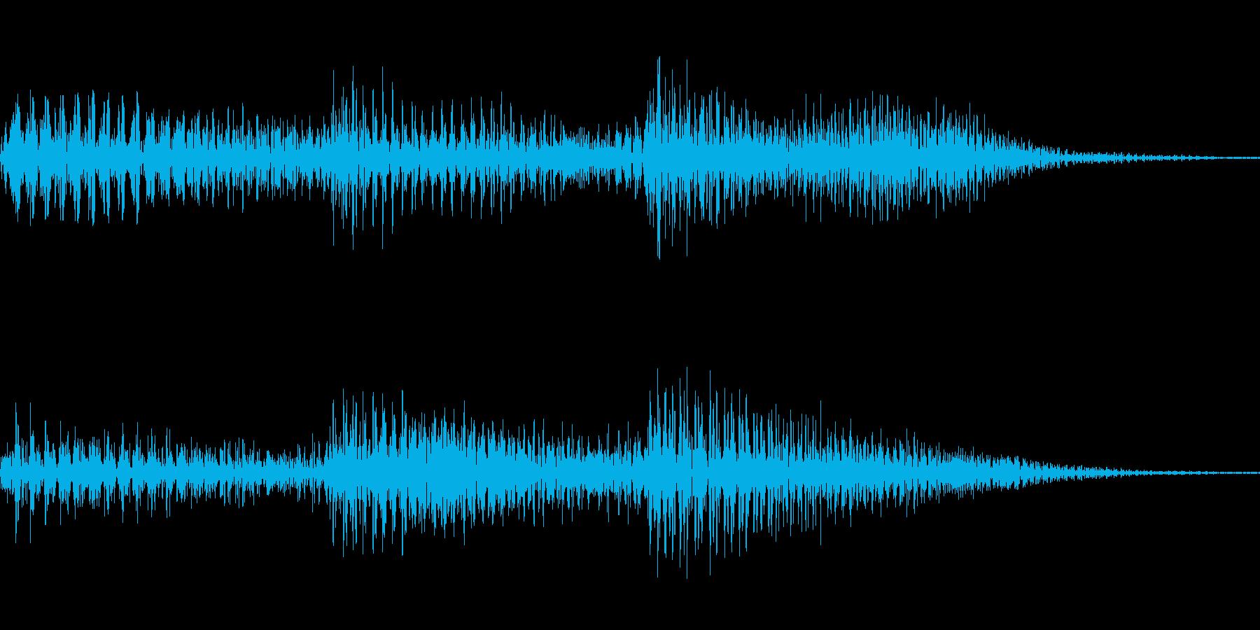 ピロリッ!! トランス風決定音。の再生済みの波形