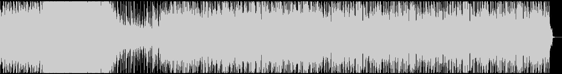 オーロラをイメージした曲のつもりですの未再生の波形