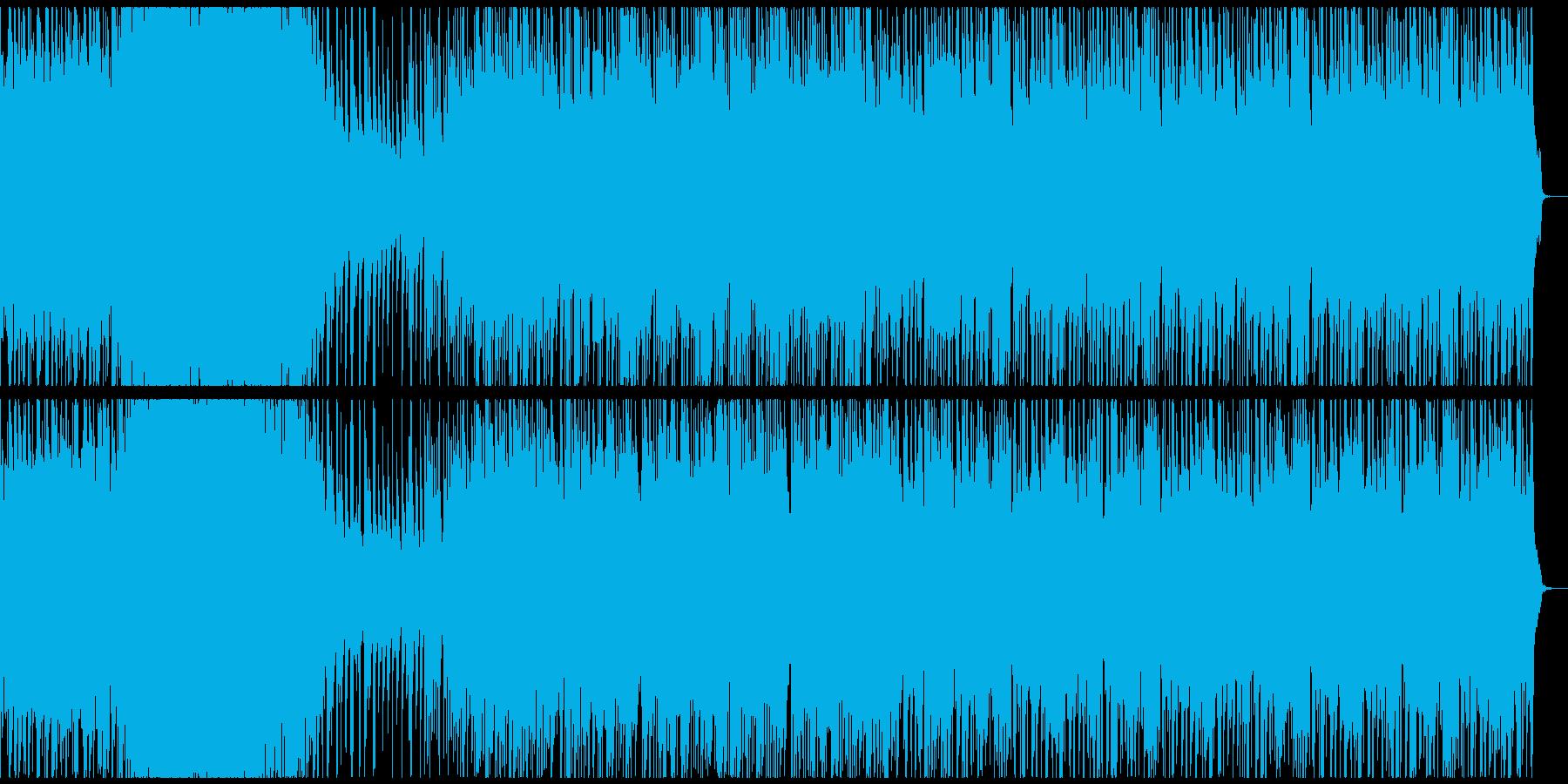オーロラをイメージした曲のつもりですの再生済みの波形