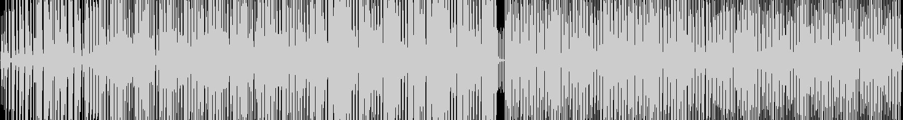 ラジオのBGMなどで使えるかわいい楽曲の未再生の波形