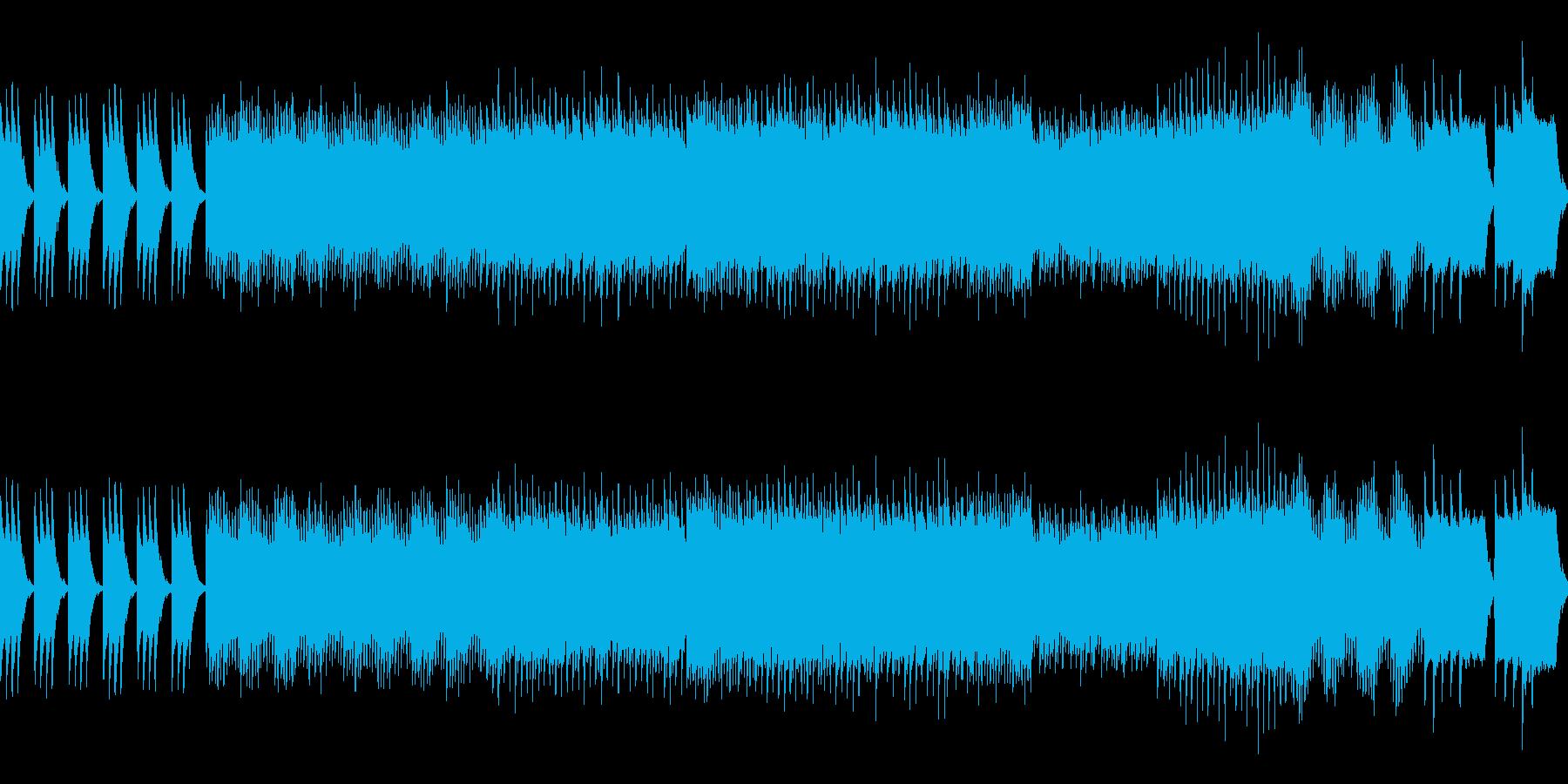神秘的なダンジョン・洞窟の曲 レトロ風の再生済みの波形