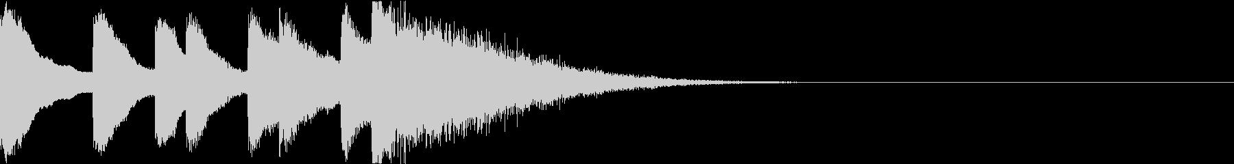 シンプル ベル チャイナ 中国風 01の未再生の波形