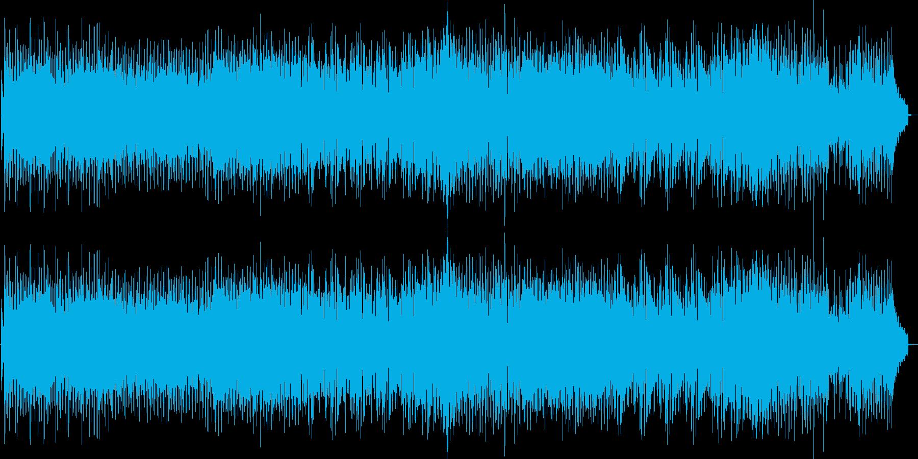 レトロな音色で陽気イメージの再生済みの波形