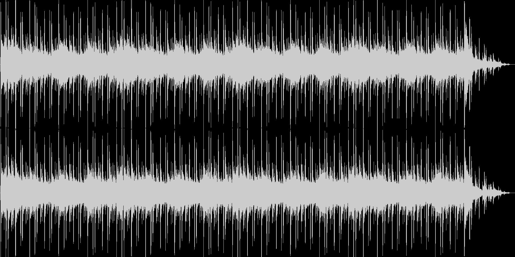 明るく爽やかな30秒BGMの未再生の波形