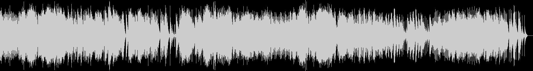 2つのアラベスク 第2番 (オルゴール)の未再生の波形